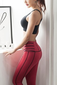 "<font color=""black""><b>[BOTTOM] XP15027 Red Wine</b></font> <br> <font color=""orange"">Best seller Magic Leggings</font>"