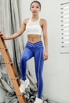 "<font color=""black""><b>[BOTTOM] XP15027 Cobalt Blue</b></font> <br> <font color=""orange"">Best seller Magic Leggings</font>"