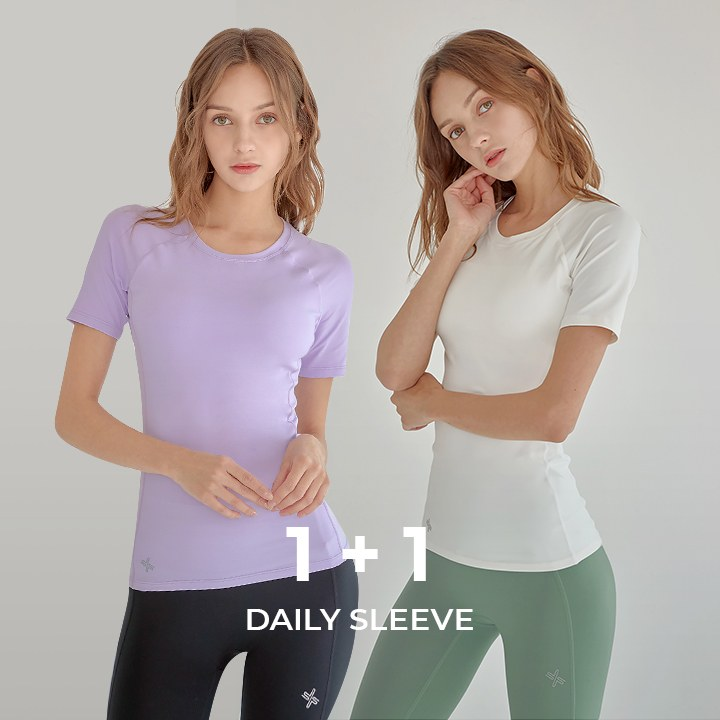 Daily One Short Sleeve 1+1