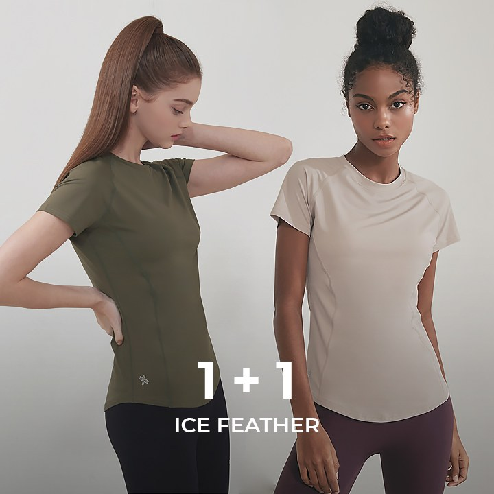 Ice Feather T-shirt 1+1